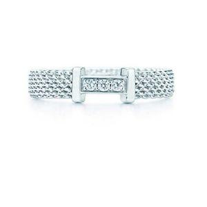Diamond somerset narrow ring